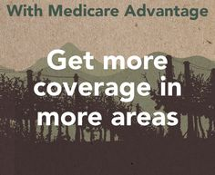 Your Medicare Advantage plan, with this and much more, is waiting. #JustSeemsRight #YourLocalAdvantage #AEP #Medicare