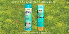 WOMEN'S Pleasures & Treasures: Sorteio Kit Shampoo+Condicionador Erva Doce