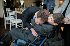A Father Shows His Love for His Disabled Child