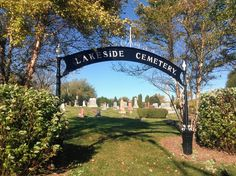 Lakeside Cemetery overlooking Butler Lake was established in the 1840s and is the burial place for some of the town's pioneers including Tobias Wynkoop, Horace Butler, and Calvin Appley.