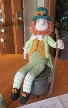 I made this guy before tour, knowing I'd have precious little of it when I got back. He's and Alan Dart pattern.