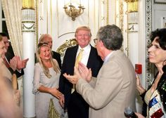 """At Mar-a-Lago, the star power of the presidency helps Trump — make more money. During the """"social season"""", trump or malana attended at least 9. Only a charity  took in $50,000 less than the previous year so they plan on changing the venue next year."""