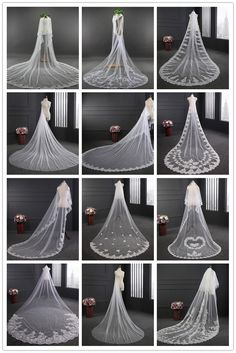 Cathedral Bridal Veils Wedding Veils Collection