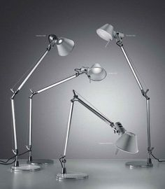 Tolomeo Office Lamp by Artemide. A master piece of Italian Design through the years.