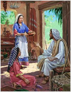 jesus-mary-and-martha-2-GoodSalt-prcas5031.jpg (466×600)