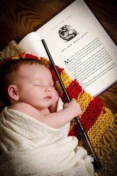 Tips For Photographing Toddlers Newborn Photography. Photo by: Court Street Portraits in Beatrice, Ne. Photo by: Court Street Portraits in Beatrice, Ne. Harry Potter Nursery, Harry Potter Love, Harry Potter Baby Costume, Harry Potter Scarf, Harry Potter Theme, Newborn Pictures, Baby Pictures, Newborn Pics, Baby Newborn