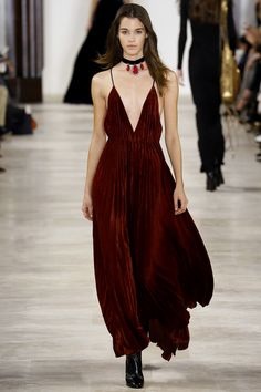 Ralph Lauren Fall 2016 Ready-to-Wear Fashion Show - Pauline Hoarau