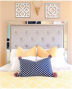 @designsbylaila does it again! Gorgeous photo of our Ava Bed.