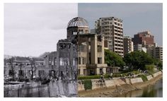 These images of Hiroshima, 70 years after the attack show how the city has regained its spirit