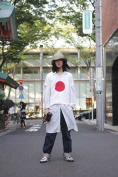 [Street Style] Kyohei Hattori | Model | Harajuku (Tokyo) Tokyo Street Style, Street Look, Street Wear, Japan Fashion, Boy Fashion, Mens Fashion, Japanese Streets, Japanese Street Fashion, Man Japan
