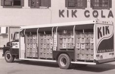 Kik Cola Delivery Truck in Montreal.
