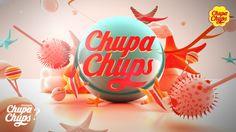 Chupa Chups : Brand Commercial by visual design art school, via Behance