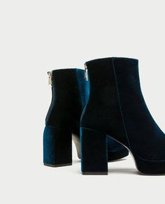 Image 5 of PLATFORM ANKLE BOOTS WITH PULL TAB from Zara