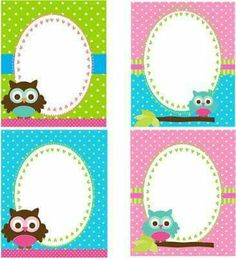 Owl Crafts, Diy And Crafts, Crafts For Kids, Paper Crafts, Owl Themed Parties, Owl Birthday Parties, Scrapbook Paper, Scrapbooking, Owl Theme Classroom