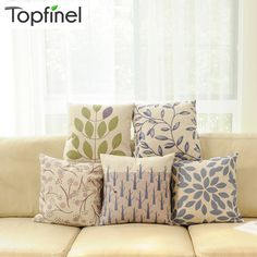 Leaves Cushion Cover (45x45 cm) - US $4.95