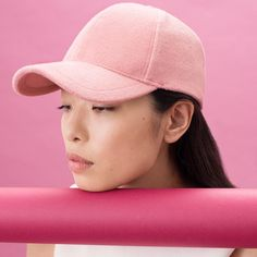 14f87e97b26 STYLISH BASEBALL CAPS FOR WOMEN Pink Color Asian Women Caps  fashion  style   love