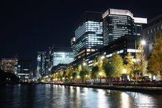 Japan Nightscape - Typical Tokyo Nightscape. #Japan