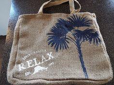 Tommy Bahama shoulder bag , Beach bag tote shopper, Burlap, NWOT #TommyBahama #TotesShoppers