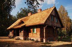 Dom z bali w Piszu - projekt Brzozolasek
