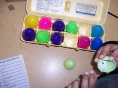 Mrs. Kelly's Kindergarten: Amazing Eggs- Math Centers and More!