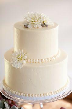 Smooth Buttercream Iced Cake con Pearl Frontera - Minneapolis