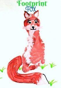 Fox craft idea for kids | funnycrafts