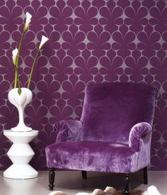 52 Lovely Purple Home Decorating Ideas That You Might Like - There are no ugly colors in home decoration but disharmonious colors. How to choose colors to decorate every room is scientific. The color which is to. Decor, Furniture, Purple Furniture, Purple Home, Wall Decor, Interior, Purple Wall Decor, Home Decor, Purple Chair