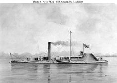 USS Osage, sister ship to USS Neosho.