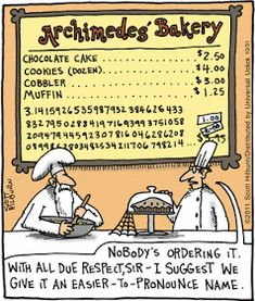 Having some fun on Pi Day, with recipes, jokes and pie stuff for the math geek and pie lover in all of us. Math Memes, Science Jokes, Math Humor, Teacher Humor, Math Teacher, Math Classroom, Teaching Math, Math Puns, Maths
