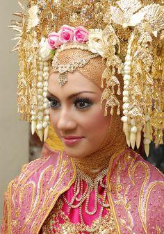 #MakeUpPengantin #Minang #Suntiang #Wedding