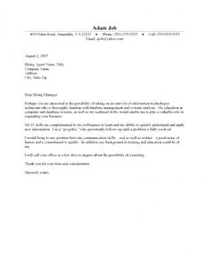 Cover Letter Template With Picture | 2-Cover Letter Template | Cover ...