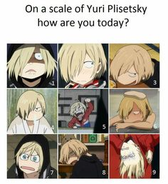 How are you today? I'm prob a three unless I'm talking to someone XD