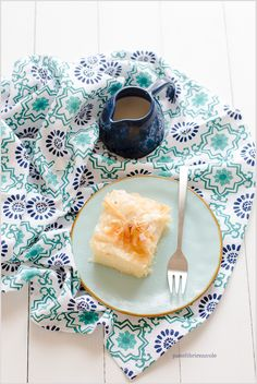 Galaktoboureko – Torta greca con pasta fillo e crema di semolino – Phyllo and semolina custard cake