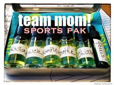 Team Mom Sports Pak! EOs on the Field, Court or Rink