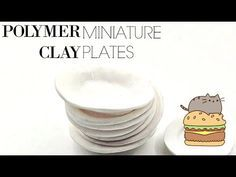 Miniature Plates - Polymer Clay Tutorial! ♥ - YouTube