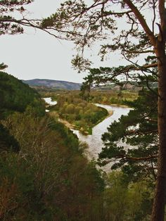 River  Spey, at the earth pillars, Fochabers