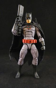 Flashpoint Batman (Batman) Custom Action Figure by Charles Chop Base figure: ML Daredevil