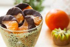 Мандариновые дольки в шоколаде!   Vegelicacy.com - вегетарианские рецепты