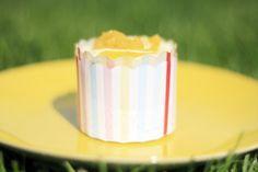 mango pineapple cupcake