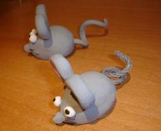 ratoncitos de barro