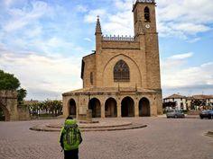 Iglesia de San Juan Bautista de Obanos (Navarra).