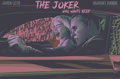 Joker And Harley Quinn, Dc Universe, Detective, Squad, Dc Comics, Batman, Let It Be, Photo And Video, Movie Posters