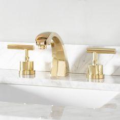 Best Bathroom Faucets, Cheap Kitchen Faucets, Brass Bathroom, Brass Faucet, Widespread Bathroom Faucet, Lavatory Faucet, Kitchen Sinks, Bronze Kitchen, Basement Bathroom