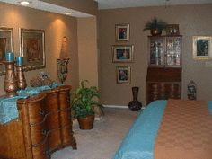 Santa Fe Inspired Bedroom