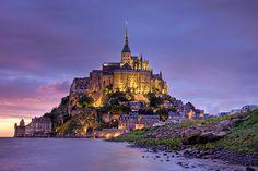 Mont St Michel, Basse-Normandie, France