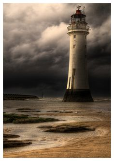 As requested...same image without black border. New Brighton lighthouse..Wirral..Merseyside.  Got to #3 in explore! :-)) View On Black