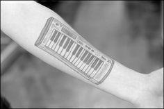 Synth Tattoo Fitbit Flex, Tattoo Inspiration, Cool Tattoos, Ink, Tattos, Coolest Tattoo, India Ink, Tattoos, Nice Tattoos