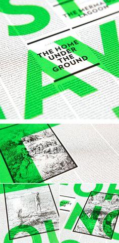 Storybook Posters by Brandt Brinkerhoff Katherine Walker Inspiration Grid Design Inspiration Poster Layout, Print Layout, Text Layout, Gfx Design, Layout Design, Design Web, Typography Layout, Graphic Design Typography, Bold Typography