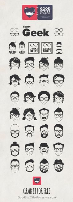 Free Geek Pack Icons - Hand Drawn Icons