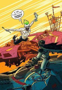 Batman: Fury Road by Andrew Kwan